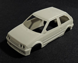 KIT Citroën AX Bifaro Slot 1/32 - Otero Scale Model
