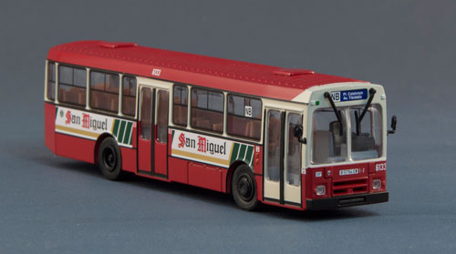 Pegaso 6038 Serie 6000 San Miguel a escala 1/87 - Otero Scale Model