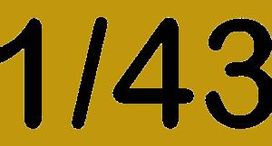 Escala 1/43
