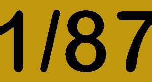 Escala 1/87